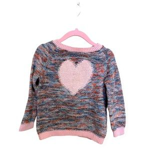 [3 for $15] Heart Pink Toddler Sweater